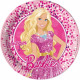Barbie Talerz Magic Paper 8 szt. 23 cm