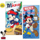 Disney Mickey bath towel beach towel 70 * 140