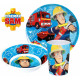 Sam is the fireman's cutlery set, melamine set