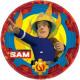 Fireman Sam , Sam Firefighter's Paper Plate is