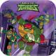 Żółwie Ninja Taca na papier 8 szt. 18 cm