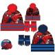 Czapki i rękawiczki dla dzieci zestaw Spiderman, S