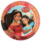 Disney Elena of Avalor Paper Plate 8 x 23 cm