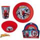 Kitchenware, Plastic Set Spiderman , Spiderman