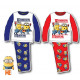 Enfants longs pyjamas Minions 3-8 ans