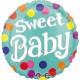 Zoete Baby Folie Ballonnen 43 cm