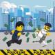 LEGO City napkin 20 pcs