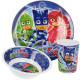Kitchenware, Melamine Set PJ Masks, Pisniers