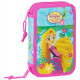 Pencil case filled with 2 floors Disney Princess