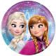 Disney frozen , Frozen Paper Plate 8-inch 19.5