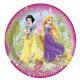 DisneyPrincess Księżniczki Talerz papierowy 8 szt