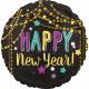 Feliz año nuevo Foil globos 43 cm