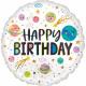 Happy Birthday Balony foliowe 43 cm