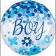 Confetti Baby Boy Sphere Foil balloons 71 cm