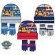 Les chapeaux et gants pour enfants fixés Paw Patro