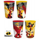 Glass Set - 4 Pieces for Disney The Incredibles