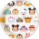 Disney Tsum Tsum Plate 8 pcs 23 cm
