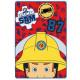 Sam is a firefighter Duvert 100 * 150cm