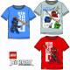 Top T-shirt for kids LEGO Ninjago 4-10 years