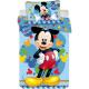 Kinderbedding Disney Mickey 100 × 135cm, 40 × 60