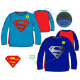 Kids Long T-shirt, Top Superman 3-8 years