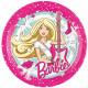 Barbie Paper Plate 8 pcs 23 cm