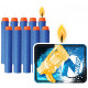 Nerf candle with 11 pieces