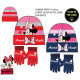 DisneyMinnie gloves in the dark, cap