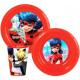 Tableware, plastic Miraculous set Ladybug