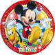 Disney Mickey Paper Plate 8-delig 23 cm