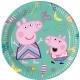 Peppa Pig , Świnka Peppa Talerz papierowy 8 szt. 2