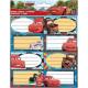 Booklet Label 16-piece Disney Cars, Cars