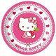 Hello Kitty Paper Plate 8 x 23 cm