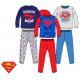 Kids long pyjamas Superman 3-8 years