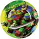 Ninja Turtles Paper Plate 8 x 23 cm