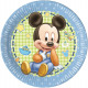 Disney Mickey Paper Plate 8 x 23 cm