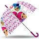 Kids Transparent Umbrella Shimmer and Shine Ø70 cm