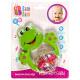 Frog baby rattle