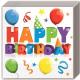 Happy Birthday Servetten 20 stuks