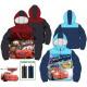Kids lined jacket with Disney Verdas, Cars 3-8 yea
