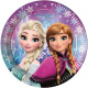 Disney frozen , Frozen Paper Plate 8-delig 23 cm