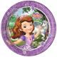 Disney Sofia , Sofia Paper Plate with 8 pcs 23 cm