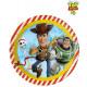 DisneyToy Story , Talerz Toy War Paper 8 szt