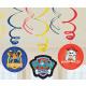 Paw Patrol , Mancs Patrol Ribbon decoration 6 pcs