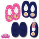 Disney Princesses Kids Winter Slippers