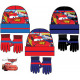 Children's hats & gloves set Disney Cars,