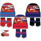 Children's hats & gloves set Disney Cars,