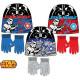 cappelli e guanti per bambini insieme di Star Wars
