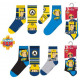 Sam the Firefighter Kid's Socks 23-34