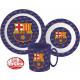 Kitchen set, micro plastic set FCB, FC Barcelona